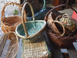 Quantity of Wicker Baskets *LY