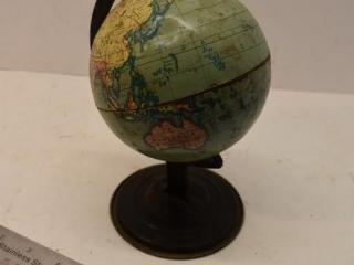 Small Metal Globe
