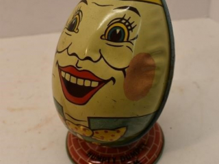 Humpty Dumpty Tin Coin Bank