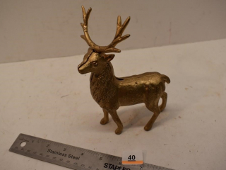 Metal Deer Coin Bank