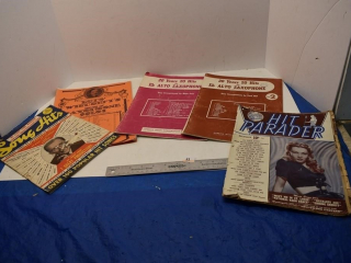Vintage Music Books