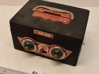 Metal Coin Bank