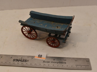 Metal Toy Wagon