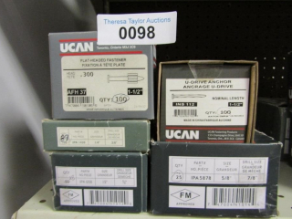 UCAN Assortment:: Flat Head Fasterern AFH 37 1-1/2