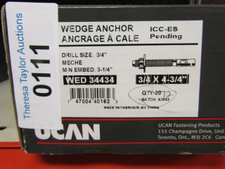 UCAN Wedge Anchor WED 34434