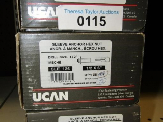 UCAN Sleeve Anchor Hex Nut SLE 126
