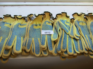 12 pairs Kevlar work gloves MSRP $7.25 each