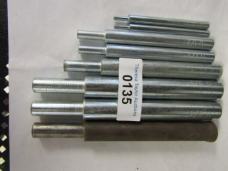 "Setting tools: 3/4""  trio  ; 1/2"" pair, 1/4""  pair"