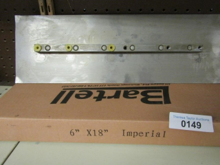 "2 boxes Bartell Float Finishing blades 6"" x 18"" im"