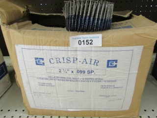 "1-box Crisp Air 2.-1/4""  x .099 SP  Collated"