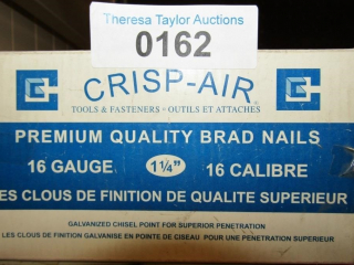 Crips Air 16 guage  Brad nails 1-1/4""