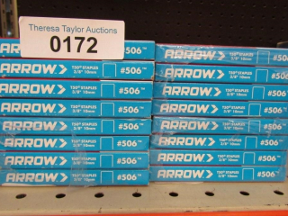 16 Boxes Arrow #506 T50 3/8""