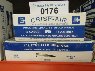 "Crisp-Air 18 guage 2"" ; 2"" L type Flooring Nail."