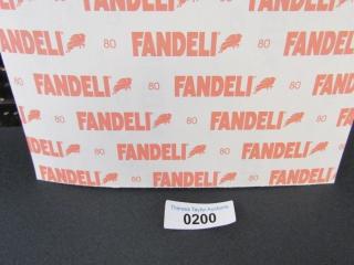 Fandeli sanding paper 7 sheets Grit 80