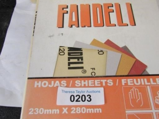Fandeli sand paper Grit 120  9 x 11 Sheets 59
