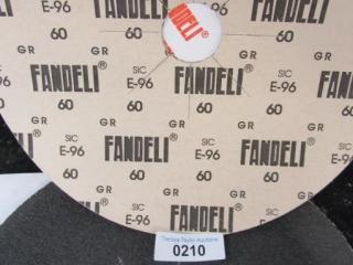 "Sand paper discs 15"" Fandeli Grit 60 Sheets 4"
