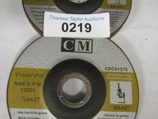 8- CM Abrasive Blade CDC01275 Metal/Stainless