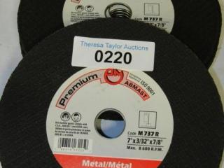 "11-Abmast Metal blade: A24R 7"" x 3/32"" 7/8"""