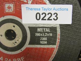 """31-Trojan JET  Metal 8"""" x 1/8"""" x 5/8""""  7360 RPM"""