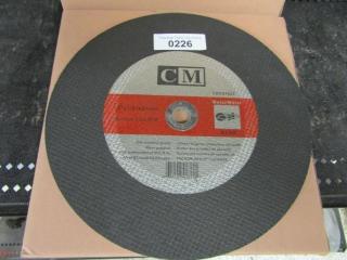 "12- CM  Metal blades 12"" x 1/8"" x 20 mm A24R"