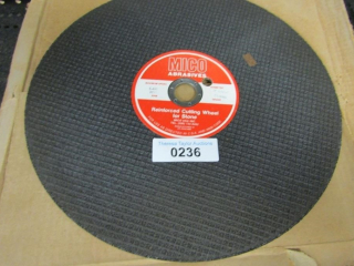"8 Micro Abrasives, 14"" x 5/32"" x 1"" Cutting Wheel"
