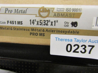 "8- Abmast Pro MS metal & stainless, 14' x 5/32"" x'"