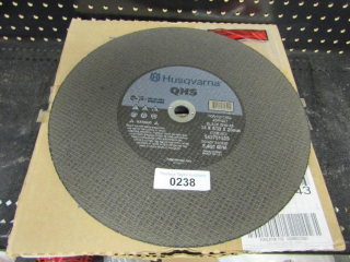 "6- Husqvarna QHS for asphalt 14"" x 5/32"" x 20mm"
