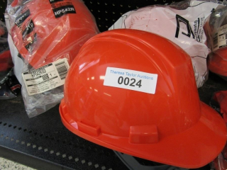 Dynamic Hard Hats: 6 hats- orange