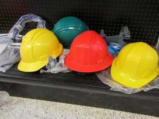 Dynamic & Pyranx Hard Hats-4 plus visor attachment