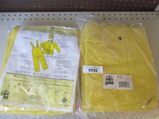 Safe way 3 pc. protection suits - rain wear