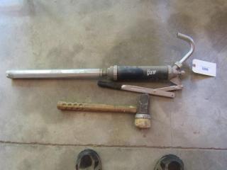 Mallet & a Pump