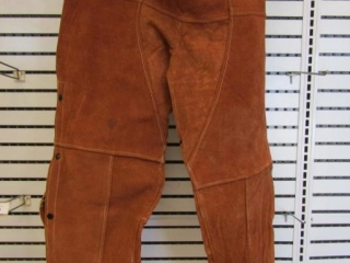 "Condor chaps size 20"" to 50"" 100% leather"