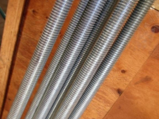 1/2? galvanized threaded rod