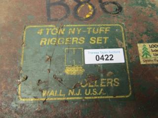 4 Tonne NY-TUFF Riggers Set