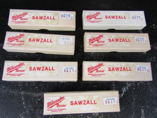6 boxes Milwaukee  sawzall blades