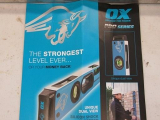 "Ox Pro Series 80cm/32"" level"