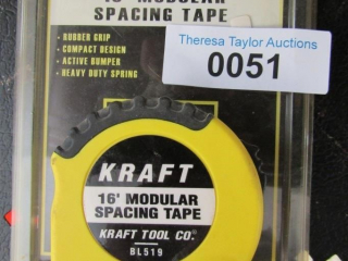 "Lot:  3 "" modual spacing tape & 2  pkg."