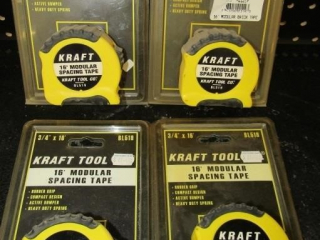 4- Kraft tool 16' Modual spacing tape