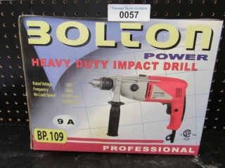 NEW Bolton Power HD Impact Drill professional