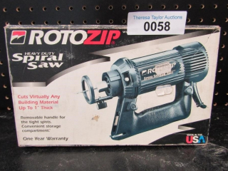 NEW Rotozip Spiral Saw MSRP $165.00
