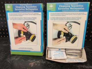 Personal Safety Equipment; cleansing towelettes
