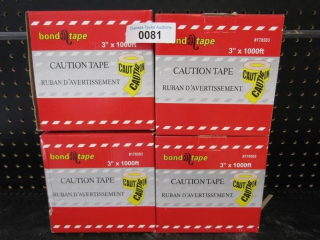 Caution Tape - 4 boxes