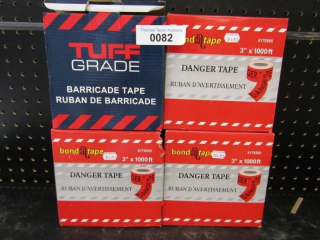 Danger Tape- 4 boxes MSRP $14.95
