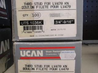 2- UCAN Thrd stud for LV470  KN