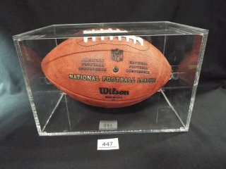 Football Mike McCarthy Signed Ball