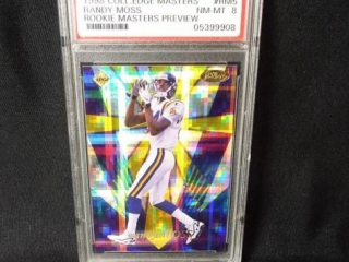 Football Randy Moss Card