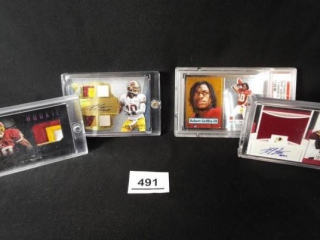 Football Robert Griffin III x 4