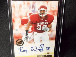 Football Roy Williams Signed Card