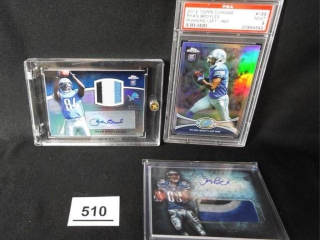 Football Ryan Broyles Cards x 3
