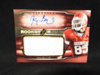 Football Ryan Broyles Signed Card